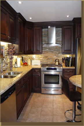 Alta Moda Millwork Inc. | Custom Kitchen Cabinets | Kitchen Remodel